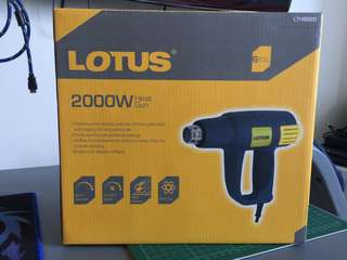 Lotus 2000W Heat Gun Brand New