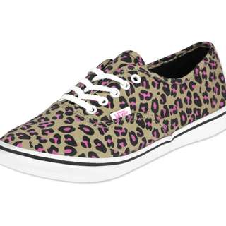 vans shoes leopard style pattern