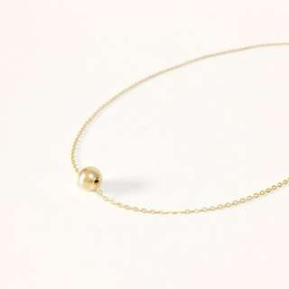 14K Gold Filled Ball Necklace - 8mm