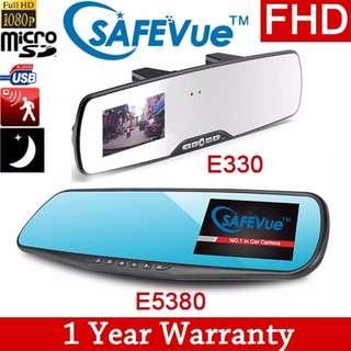 SAFEVue E330 Car Camera