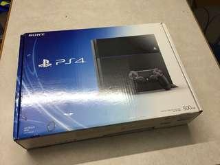 PS4 厚機 80%新 有盒 如圖 500GB