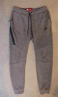 Nike tech fleece pants size medium grey