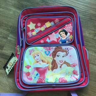 Princess school bag for primary school kids( brand new)