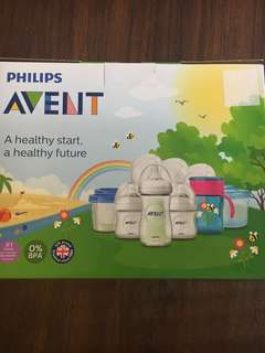 Brand new Philips Avent baby bottle gift set