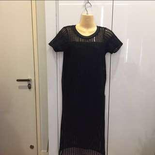 Black Maxi Midi Dress