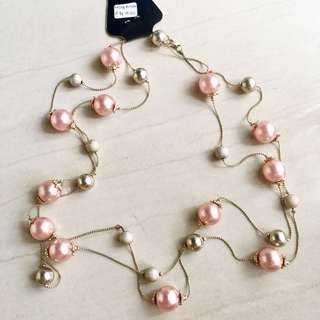 Kalung Pearl Soft Pink