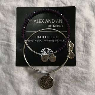 Pre-loved Authentic Alex and Ani bangle