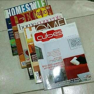 """Interior Designer Books """"OLDER ISSUE"""""""