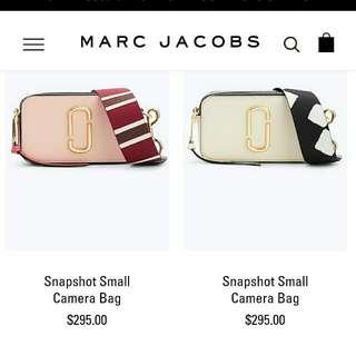 Marc Jacobs Camera Snapshot Bag