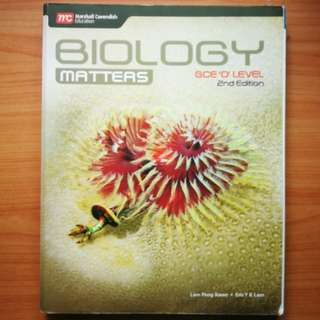 "Marshall Cavendish Education Biology Matters GCE ""O"" Level 2nd Edition"