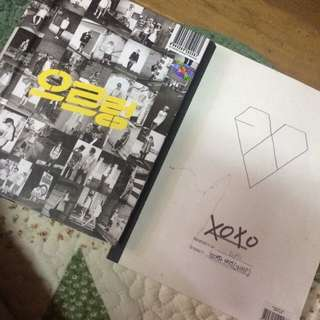 EXO 1st Album XOXO & XOXO Repackaged Album