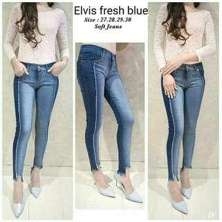 Celana Jeans Wanita z1 ELVIS FRESH BLUE