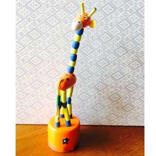 Cute Colorful Bendy Giraffe Kids Toy
