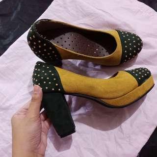 Mustard Heels.