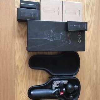 DJI osmo 手持穩定攝影機