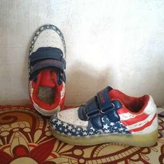 Sepatu flag england