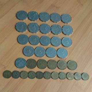 香港舊硬幣(2)不同年份,勿錯過!