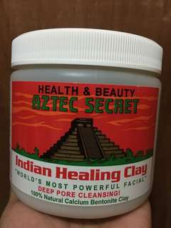 New stocks! Authentic Aztec Secret Indian Healing Clay 1 pound