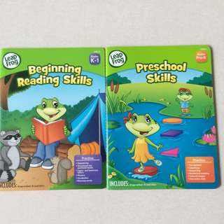 Brand New Leapfrog Preschool Workbooks