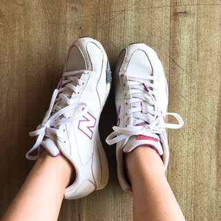 New Balance White Sneakers