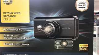 Car camera HELLA WI-FI DR-820 Car driving video recorder Made in Korea