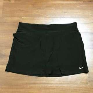 全新NIKE DRI-FIT黑色女運動褲裙M