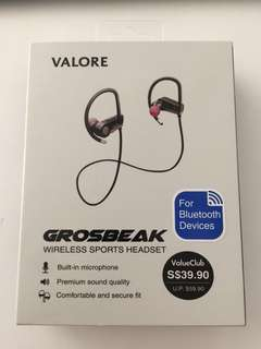 VALORE GROSBEAK Bluetooth Wireless Headset