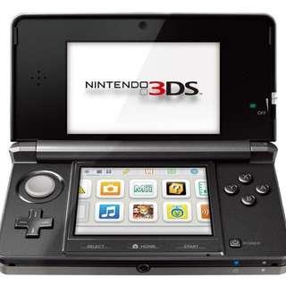 3DS Black (used)