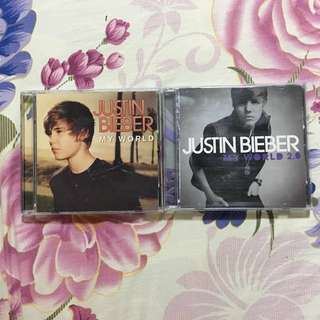 My World [SOLD] / My World 2.0 album by Justin Bieber