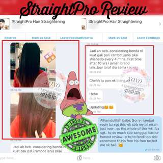Straightpro Hair Straightening Set