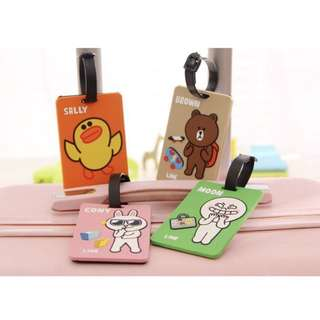 LINE Friends Luggage Tag