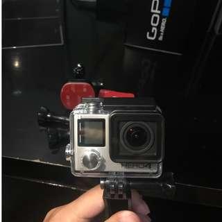 GoPro Hero 4 ORIGINAL Full Set - Second kondisi 98% Belum Pernah Pakai