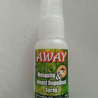 Brand new AWAY Mozzi and Insect Spray
