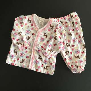 228-0006 Baby Girl Cute Set Wear