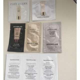 Makeup Samples x 8, Estee Lauder/HourGlass/bareMinerals(Brand New)