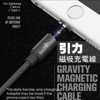 Left 5! REMAX Gravity Series Metal Magnetic Charging Cable
