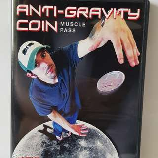 Anti-Gravity Coin Magic DVD