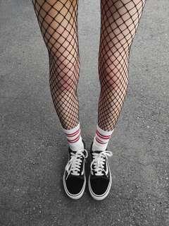 🌿Fishnet Socks