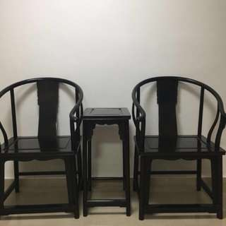 Antique Table and chairs set