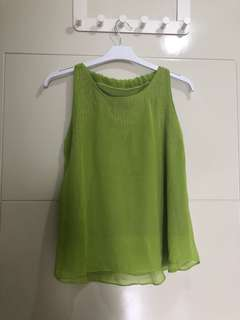Green Top sleeveless