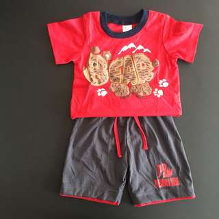 228-0013 Boy Cute Set Wear