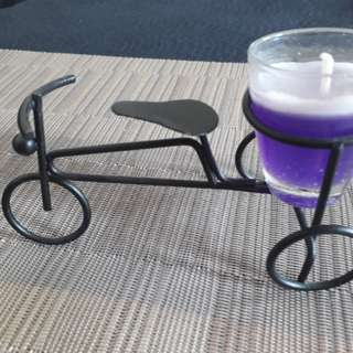 Bicycle Candle Holder