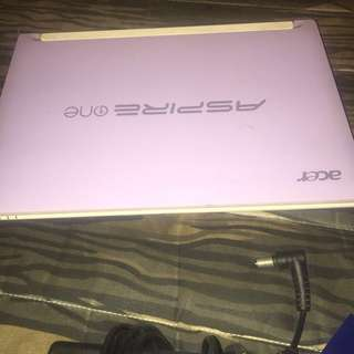 Notebook aspire one acer