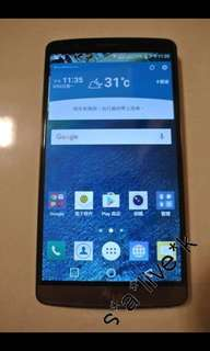 LG G3 D858 Dual SIM LTE 3GB RAM 32GB ROM Support Micro SD Card Android 6.0 (Marshmallow) 95% NEW 100% WORK 全新原廠電池