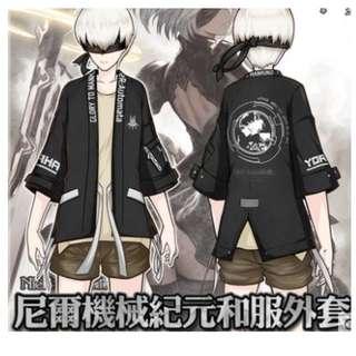 (預訂) PS4 Nier 尼爾 自動人形 形和風外套 Cosplay 服 外套 Jacket (男女合穿)