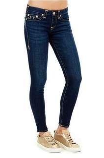 TR Halle Mid Rise Super Skinny Jeans