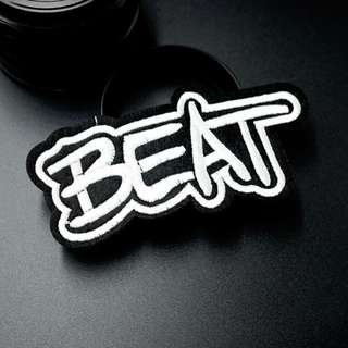 #46 tumblr beat iron on patch | po