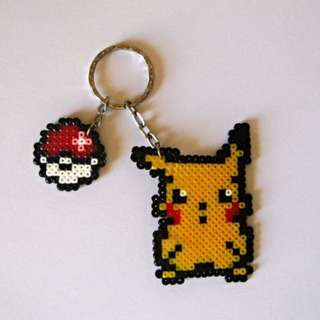Pokemon Keychain Hama Bead Designs