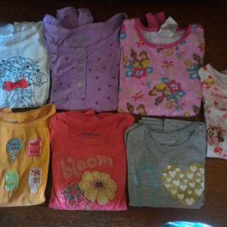 Preloved girl and boy cloths