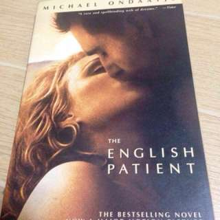 The English Patient by Michael Ondaatje paperback edition